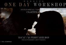 Workshop Videografie de Nunta Catalin Calinescu